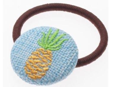 サマーモチーフ刺繍ポニー1