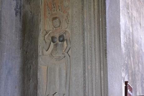 247アンコールワット女神像