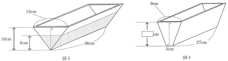 2015 女子学院中理科第4問図3,4
