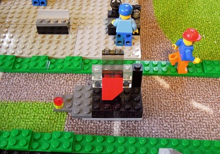 LEGO自動車工場11