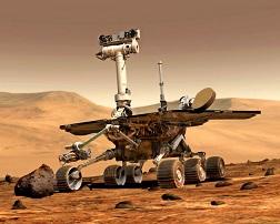 無人火星探査車「オポチュニティ」