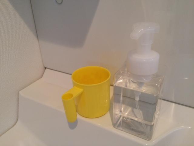 無印良品週間 洗面所・風呂 PET詰替ボトル・泡タイプ・クリア400ml用