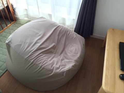 無印良品週間 体にフィットするソファ 人をダメにするクッション ソファー