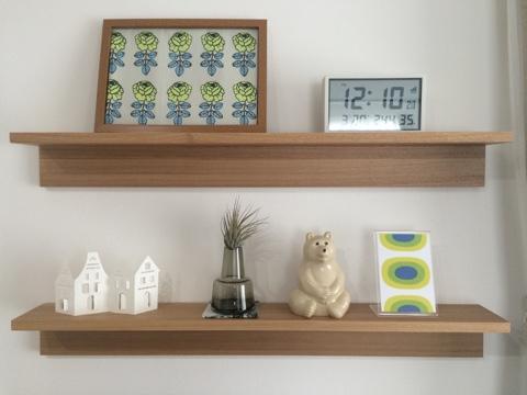 無印良品週間 壁に付けられる家具・棚 88cm リビング飾り棚ディスプレイ