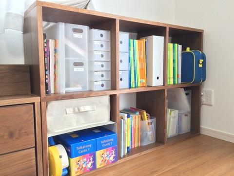 無印良品週間 スタッキングシェルフ 子供 絵本・教材・おもちゃ収納 リビング