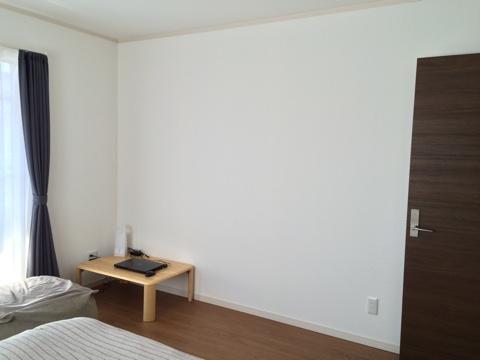 寝室 壁紙 クロス 殺風景 マスキングテープ マステ mt ウォールデコ ウォールデコレーション before