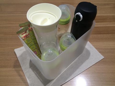 無印良品 PPメイクボックス HARIO ハリオ ウォータージャグ 湯冷まし入れ 哺乳瓶 ミルク