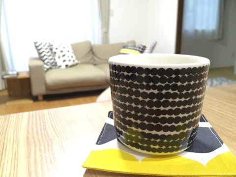 マリメッコ (marimekko) コーヒーカップ 200ml 取っ手なし Siirtolapuutarha (市民菜園/Rasymatto) ラテマグ お買い物マラソン 北欧