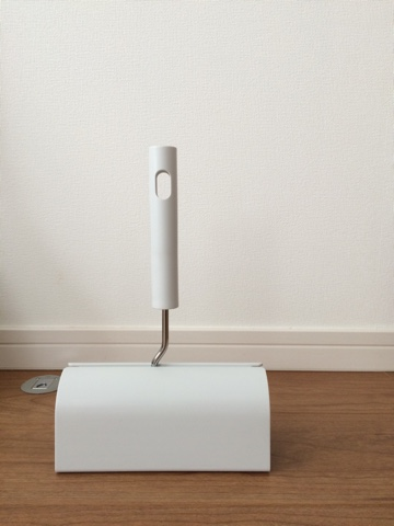 無印良品 掃除用品システム カーペットクリーナー コロコロ アルミ伸縮式ポール