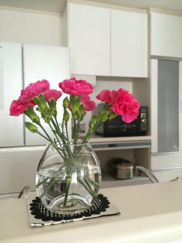 無印良品 良品週間 フラワーベース 花器 花瓶 カーネーション 母の日