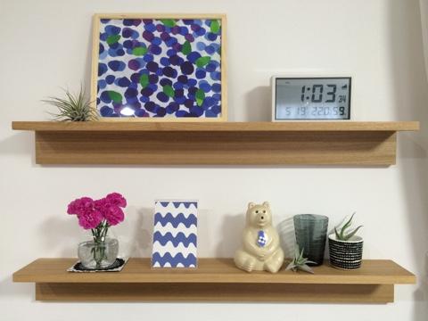無印良品 壁に付けられる家具・棚 幅88cm リビング 飾り棚 ディスプレイ 夏 MK Tresmer エムケー トレスマー Polar Bear Money Box scope 北欧 フィンランド