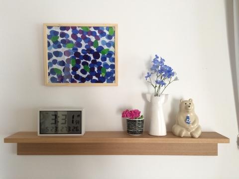 無印良品 壁に付けられる家具 飾り棚 ディスプレイ 北欧インテリア リサ・ラーソン Lisa Larson ワードローブ ドレス マリメッコ marimekko エムケー トレスマー シロクマ貯金箱
