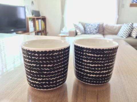 マリメッコ marimekko Siirtolapuutarha 市民菜園/Rasymatto ラテマグ コーヒーカップ