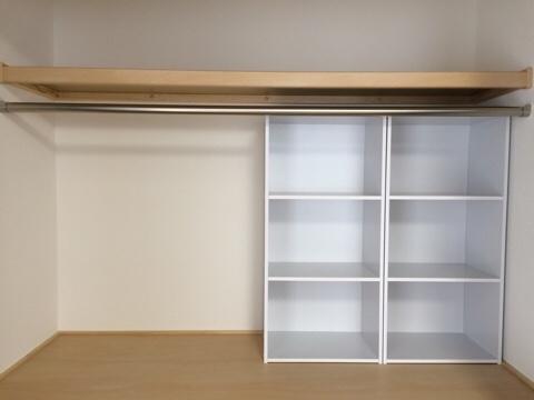 新築一戸建て 和室 手直し工事 押入れ クローゼット カラーボックス リフォーム プチリフォーム WEB内覧会