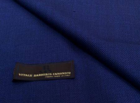 カノニコの青のジャケット生地