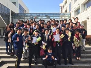 卒業式(2015.3.25)