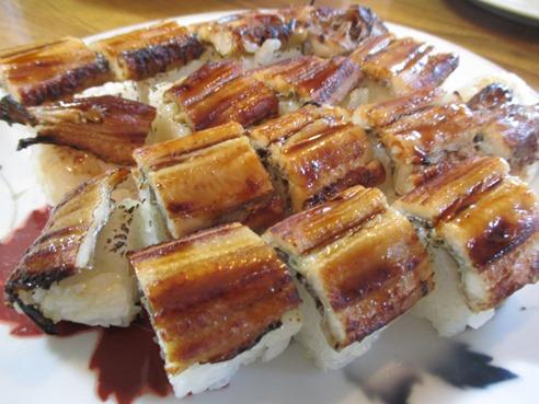 穴子棒寿司