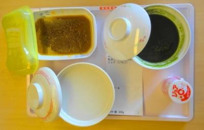 昼食:ミキサー食 ポープカレー