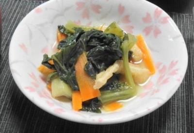 k松菜のお浸し