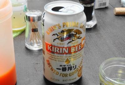 ビールも実験