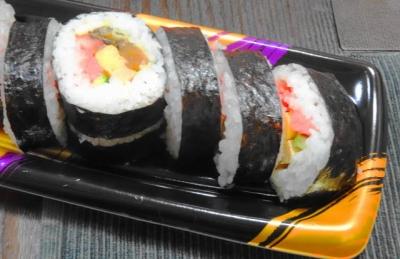 違う店の巻き寿司