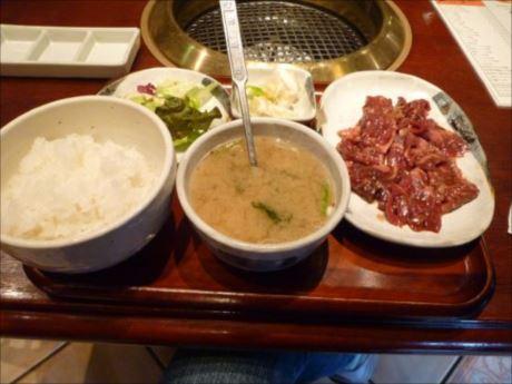 サガリ定食in焼肉 平和園_R_R