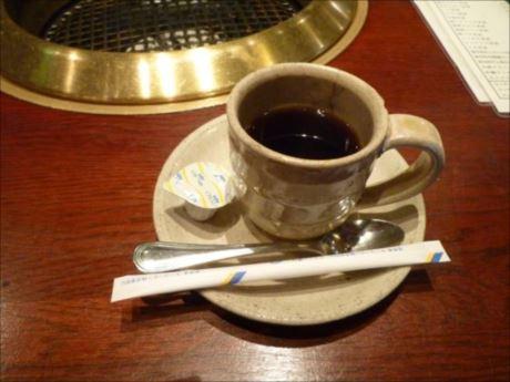 定食セットコーヒーin焼肉 平和園_R_R