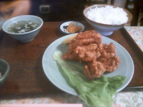 ザンギ定食in彩華_R
