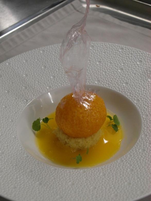 dessert mandarine