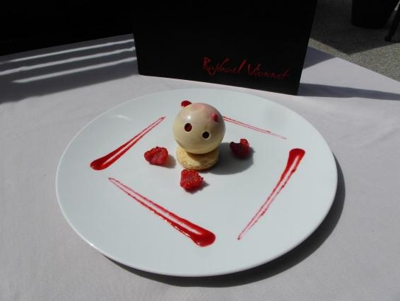 dessert framboise