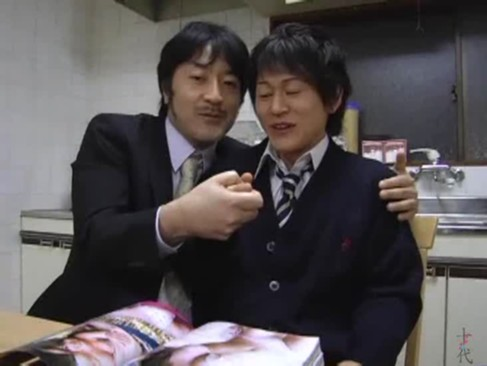 【ゲイ動画】実の息子とのセックスを撮影している変態親父。