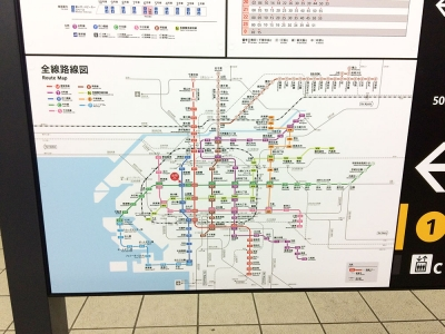 20150410本町駅6