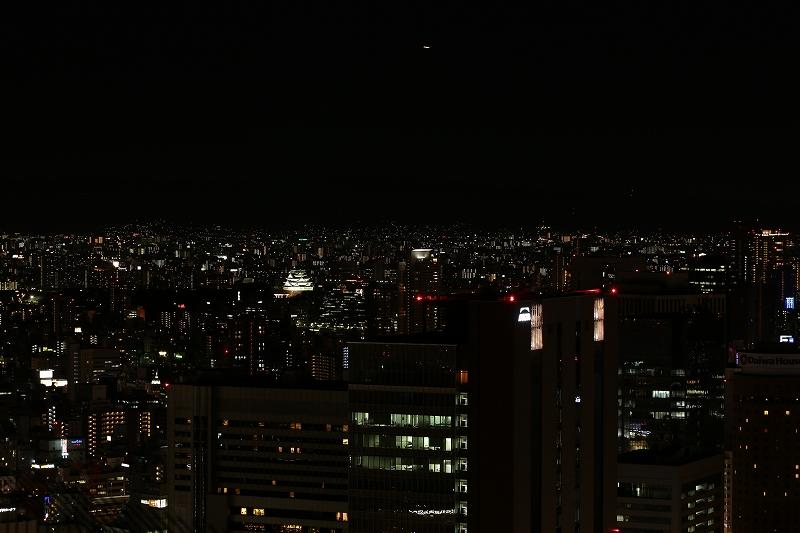 スカイタワーより大阪城方面