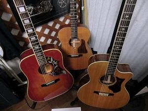 ギターたち