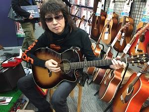ギターと対面