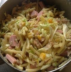 マカロニ ツナサラダ