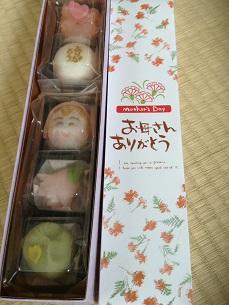 母の日和菓子^^