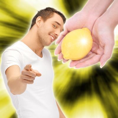 このレモンにはレモン1個分のビタミンCが含まれています