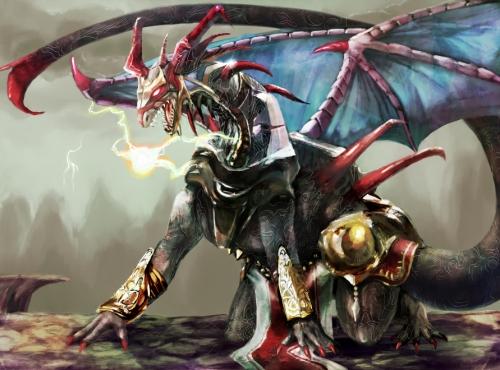 赤とげドラゴン