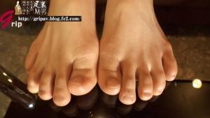 パンスト痴熟女の足裏&足指フェチ責め個人撮影/葵紫穂