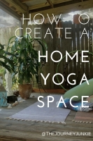 HOW TO CREATE A YOGA SPACE