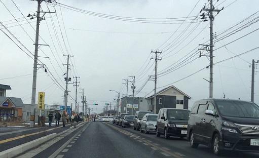八戸 初詣渋滞