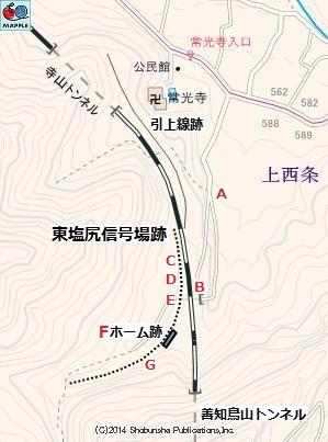 東塩尻信号場15