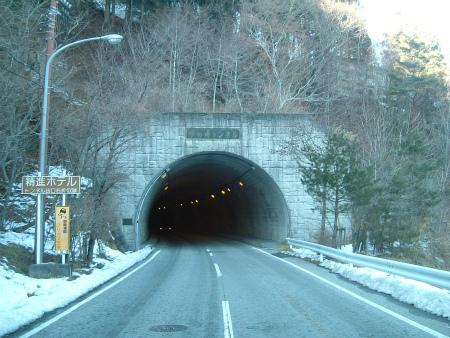 本栖湖の隧道04