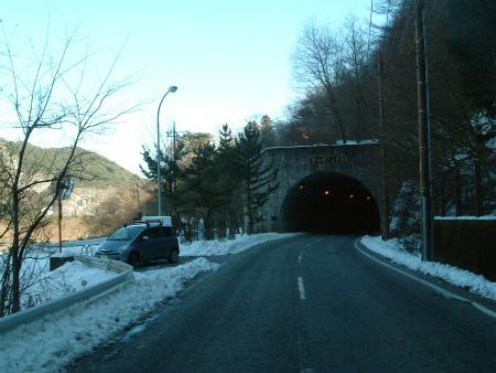 本栖湖の隧道06