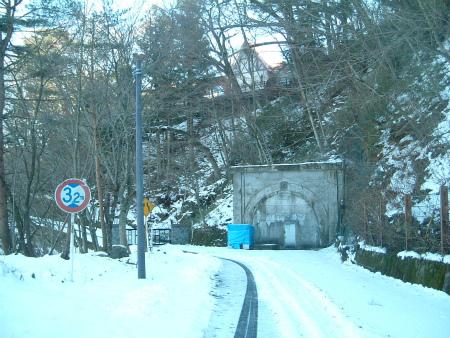 本栖湖の隧道07