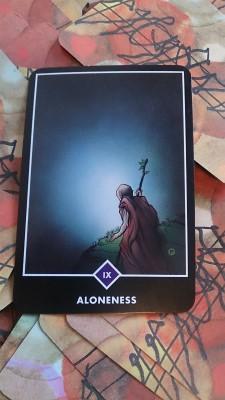 OSHOカード_Aloneness