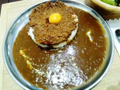 150325名古屋肉味噌カレー研究所肉味噌カレー758円