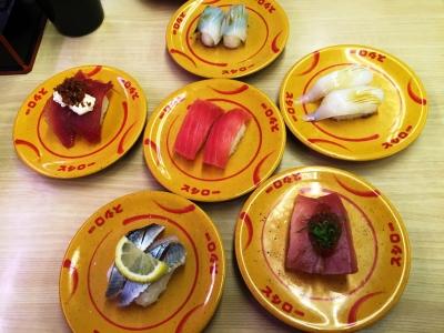 150329スシロー大正店お寿司いろいろ