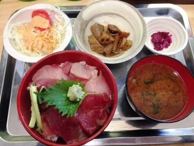 150414第十八うお浜海鮮丼780円